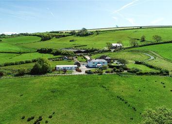 Thumbnail 7 bed detached house for sale in Mwche Farmhouse, Llanybri, Carmarthen, Sir Gaerfyrddin