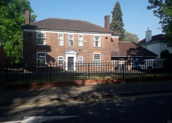Thumbnail 5 bed detached house to rent in Vicarage Road, Edgbaston
