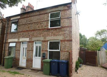 Thumbnail 2 bed semi-detached house to rent in Roscoe Terrace, Wisbech, Cambs