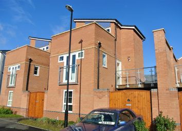 Thumbnail 4 bedroom detached house to rent in The Moorings, City Wharf, Coventry