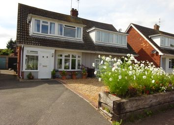 Thumbnail 3 bed semi-detached house for sale in Dukes Meadow, Hamstreet, Ashford, Kent