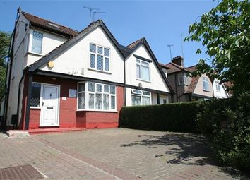 Thumbnail 4 bed semi-detached house for sale in Great North Way, London