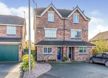 Thumbnail 3 bed semi-detached house for sale in Flavian Close, Middlewich, Cheshire