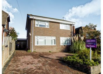 Thumbnail 3 bed detached house for sale in Castle Way, Steyning