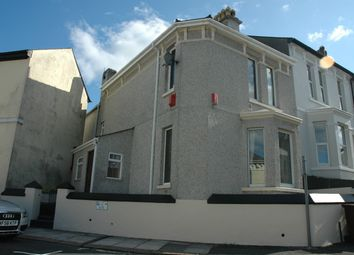 Thumbnail 4 bed end terrace house to rent in Crozier Road, Plymouth