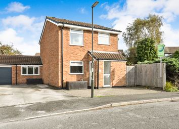 Thumbnail 3 bed detached house for sale in Pinfold Close, Repton, Derby