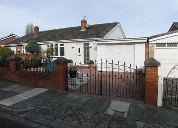 Thumbnail 1 bed semi-detached bungalow for sale in Laburnum Crescent, Kirkby, Liverpool