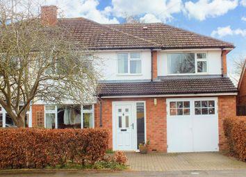 Thumbnail 4 bed semi-detached house for sale in Dashwood Avenue, Yarnton, Kidlington