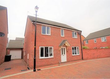 Thumbnail 4 bed detached house for sale in Honeysuckle Road, Witham St Hughs