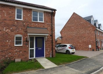 Thumbnail 2 bed semi-detached house to rent in Catterick Road, Bourne, Lincolnshire