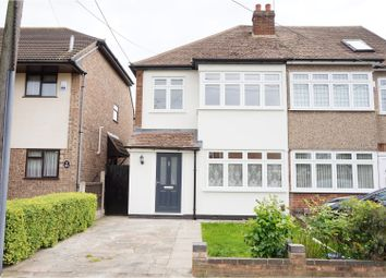 Thumbnail 3 bed semi-detached house for sale in Kings Gardens, Upminster