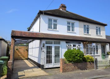 Thumbnail 3 bed semi-detached house for sale in Winters Road, Thames Ditton