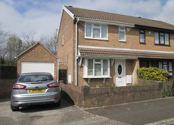 Thumbnail 3 bed semi-detached house for sale in Maes-Y-Felin, Ravenhill, Swansea, West Glamorgan.
