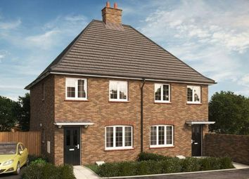 Thumbnail 3 bed semi-detached house for sale in Plot 157 Millbrook V1, Hansons Reach, Stewartby, Bedford