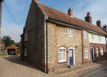 Thumbnail 3 bed end terrace house to rent in Knight Street, Little Walsingham