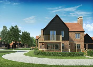 "Thumbnail 4 bed detached house for sale in ""The Saxon"" at Andover Road North, Winchester"