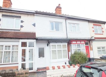 Thumbnail 2 bed terraced house to rent in Trafalgar Road, Erdington, Birmingham