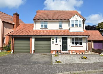 Thumbnail 4 bed detached house for sale in The Glebe, Sudbury Road, Lavenham, Sudbury