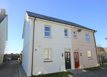 Thumbnail 3 bed semi-detached house for sale in Laity Fields, Camborne, Cornwall