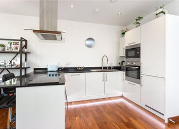 Thumbnail 2 bed flat for sale in Gooch House, 2 Telcon Way, Greenwich, London
