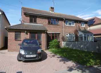 Thumbnail 3 bed semi-detached house to rent in Station Road, Herne Bay, Kent