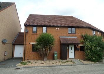 Thumbnail 3 bed semi-detached house to rent in Rowton Heath, Oakhill, Milton Keynes