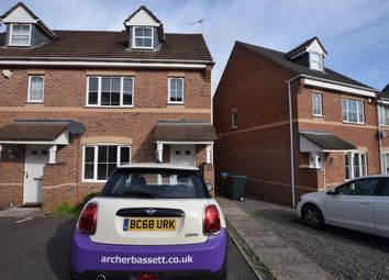 Thumbnail 3 bed semi-detached house to rent in Gilquart Way, Parkside, Coventry