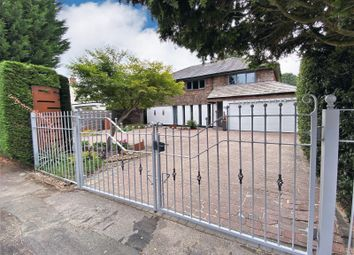 Thumbnail 5 bed detached house for sale in Knutsford Road, Wilmslow