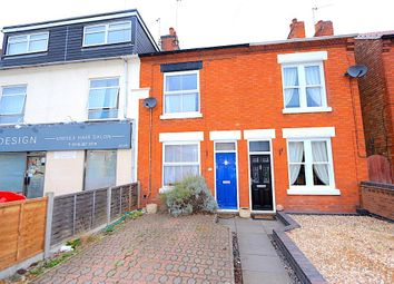 Thumbnail 2 bed terraced house for sale in Station Road, Glenfield, Leicester