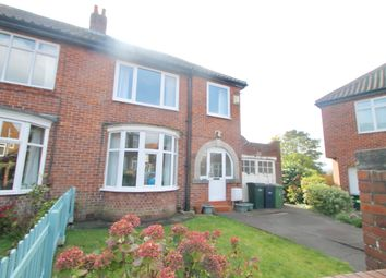 Thumbnail 3 bed semi-detached house for sale in Felton Crescent, Saltwell, Gateshead, Tyne & Wear