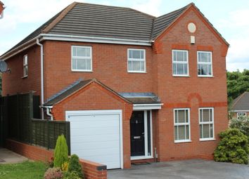 Thumbnail 4 bed detached house for sale in Shetland Avenue, Wilnecote, Tamworth
