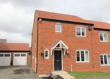 Cuthbert Way, Morpeth NE61. 3 bed semi-detached house