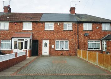 Thumbnail 3 bed terraced house for sale in Hazelbeech Road, West Bromwich, West Midlands