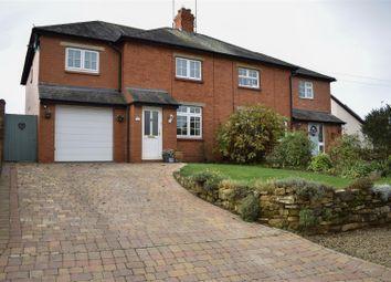 Thumbnail 4 bed semi-detached house for sale in Church Lane, Kislingbury, Northampton