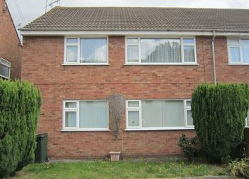 Thumbnail 2 bedroom maisonette to rent in Greendale Road, Whoberley, Coventry