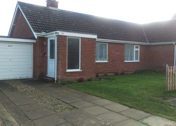 Thumbnail 2 bed bungalow to rent in Clarkson Road, Lingwood