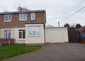 Thumbnail 2 bed semi-detached house for sale in Brambling, Wilnecote, Tamworth
