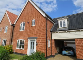 Thumbnail 3 bed link-detached house for sale in Heron Close, Sprowston, Norwich