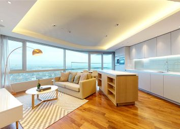 Thumbnail 1 bed flat for sale in Canaletto Tower, London