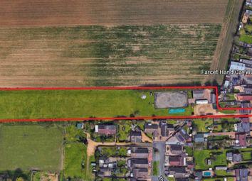 Land for sale in Peterborough Road, Farcet, Peterborough PE7