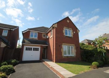 Thumbnail 4 bed detached house for sale in Snowball Close, Crook