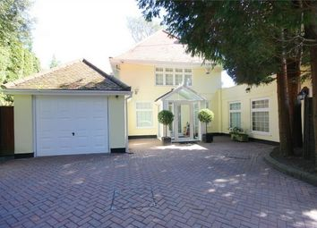 Thumbnail 4 bed detached house for sale in Burton Road, Branksome Park, Poole, Dorset