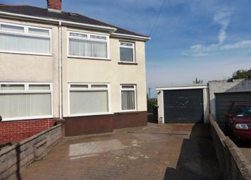 Thumbnail 3 bed semi-detached house for sale in Ty Fry Gardens, Rumney, Cardiff