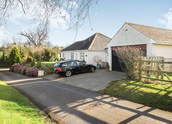 Thumbnail 3 bed detached bungalow for sale in Dipford Road, Trull, Taunton