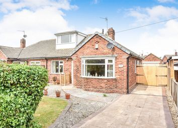Thumbnail 3 bed semi-detached bungalow for sale in Moor Lane, Dringhouses, York