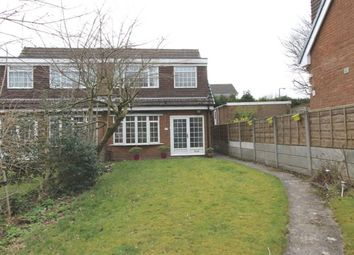 Thumbnail 3 bed semi-detached house to rent in Aylesbury Close, Macclesfield