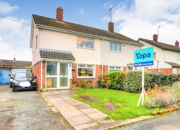 Thumbnail 3 bed semi-detached house for sale in Clarence Avenue, Vicars Cross, Chester
