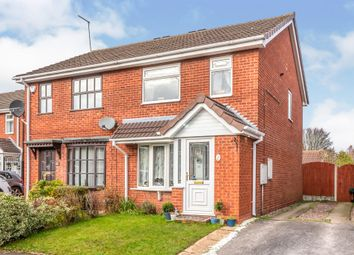 Thumbnail 3 bed semi-detached house for sale in Swallowfields Drive, Hednesford, Cannock