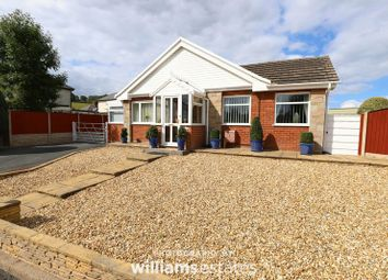 Thumbnail 4 bed detached bungalow for sale in The Park, Ruthin