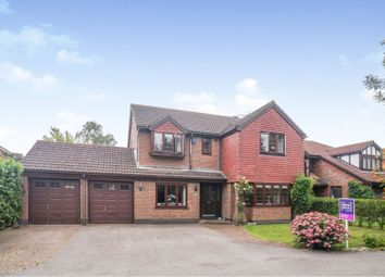 Thumbnail 4 bed detached house for sale in Oak View, Dunholme